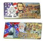 New Lincoln & Lee Gettysburg Changing Images Magnet